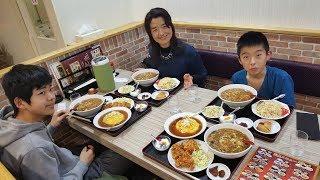 【腹いっぱい食べて出発!】ふかひれラーメン&大盛り定食 (台湾料理屋さん)
