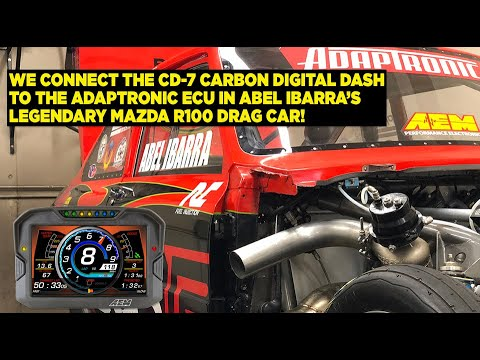 CD-7 Carbon Install on Flaco Racing R100 Drag Car