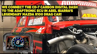 CD-7 Carbon Install With Adaptronics ECU and MoTeC PDM