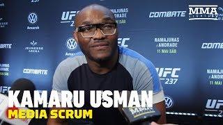 Kamaru Usman Talks Timetable For Return, Colby Covington, Ben Askren, More - MMA Fighting