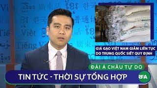 Tin nóng 24h 14/12/2018   Giá gạo Việt Nam giảm mạnh do Trung Quốc siết chặt quy định nhập khẩu gạo