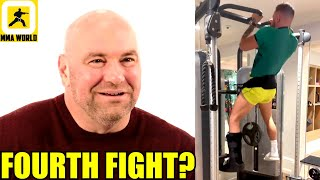 Dana White reacts to a potential 4th fight between Conor McGregor and Dustin Poirier,Chiesa,Chandler