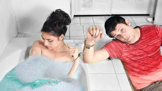 Handcuffed To My Girlfriend For 24 Hours! | 24 Hour Challenge!