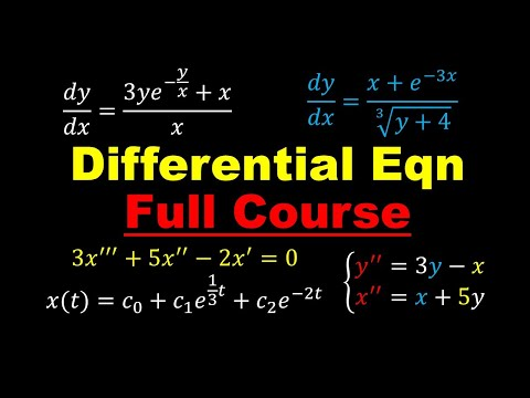 Differential Equations - Complete Review Course | Online Crash Course