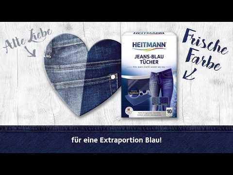 How-to-Clip: HEITMANN Jeans-Blau Tücher