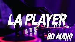 Zion Y Lennox - La Player (Bandolera) (8D AUDIO)