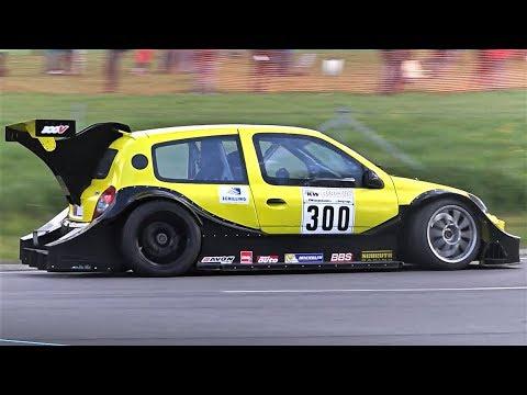 Extreme Aero Renault Clio SuperTourisme    BTCC Drivetrain Swapped Monster