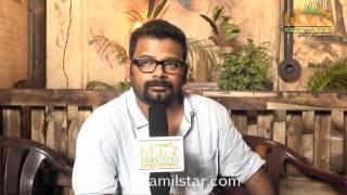 Director Jai Speaks at Andhra Mess Shooting Spot