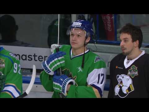 KHL All Star 2017 Super Skills: Hockey Biathlon
