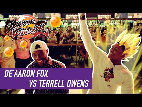 De'Aaron Fox dominates trash-talking NFL Hall of Famer Terrell Owens in Dragon Ball FighterZ