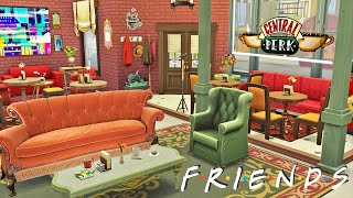 I RECREATED CENTRAL PERK from FRIENDS ☕ Coffee Shop | The Sims 4 Speed Build | No CC