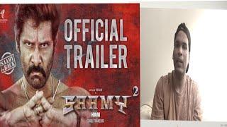 Sammy2 Official Trailer   Chiyaan Vikram & Keerthi Suresh   Hari   Indi reactions