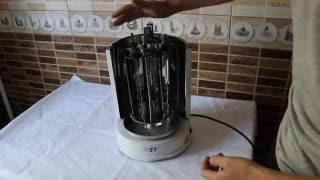 "Электрошашлычница ST 60-140-01 (3в1) от компании Компания ""TECHNOVA"" - видео"