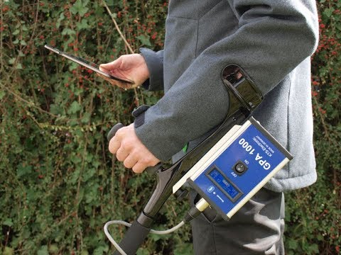 Search with GPA 1000 Gold Detector & 3D Ground Scanner