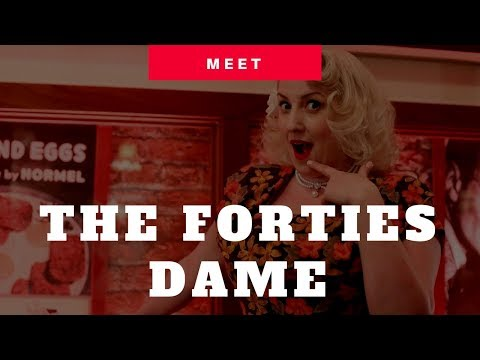 A Forties Dame Video