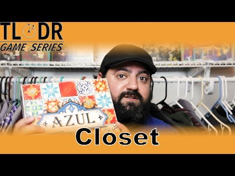 TLDR Game Series Closet - Azul Review