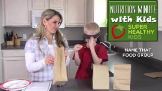 Nutrition Games For Kids- Name That Food Group
