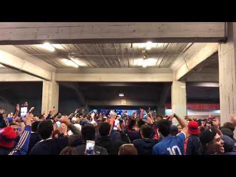 """""""Previa en el túnel / U de Chile vs Iquique / Los de Abajo 2019"""" Barra: Los de Abajo • Club: Universidad de Chile - La U • País: Chile"""