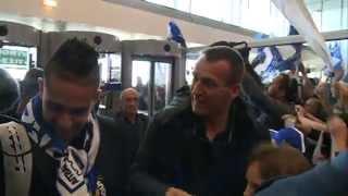 preview picture of video 'Accueil triomphal des joueurs du SC Bastia à leur retour'