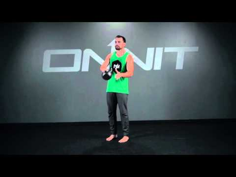 Kettlebell Around the Body to Bent Arm Hold