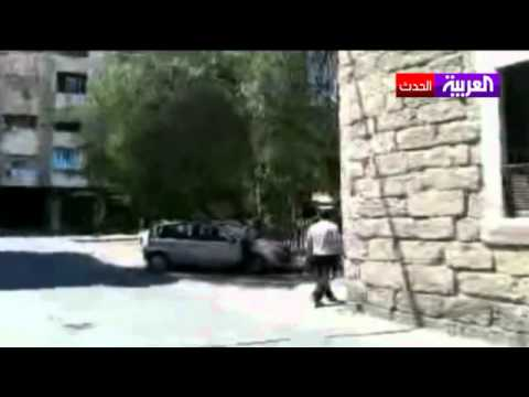 اشتباكات عنيفه دارت في محيط القصر الرئاسي في  سوريا