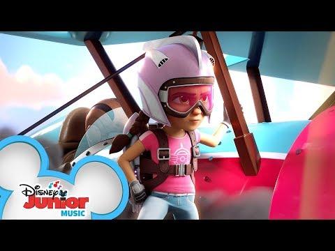 Heart of a Hero Music Video ♥️ | The Rocketeer | Disney Junior