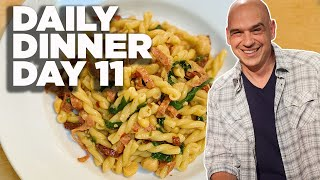 Cook Along With Michael Symon   Pasta With Beans, Meat, Greens And Garlic   Daily Dinner Day 11