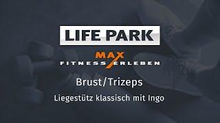 Training mit Ingo 05 – Brust/Trizeps – Liegestütz klassisch