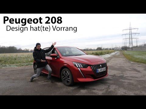 2020 Peugeot 208 PureTech 100 Test / Wenn Design über allem anderen steht - Autophorie