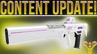 Destiny 2. HUGE UPDATE! Mod Updates, No Radar Trials, Sniper Buffs, Uriels/Hunter Nerfs & More!