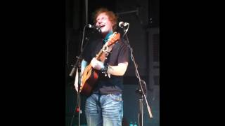Ed Sheeran - Homeless, Live at the Cluny 2 Newcastle