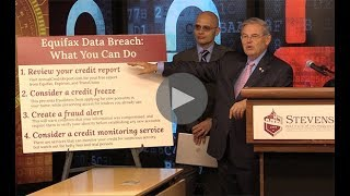 Menendez Discusses Equifax Hack, Outlines New Legislation to Protect Consumers