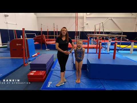 Gymnastics Practice At Home