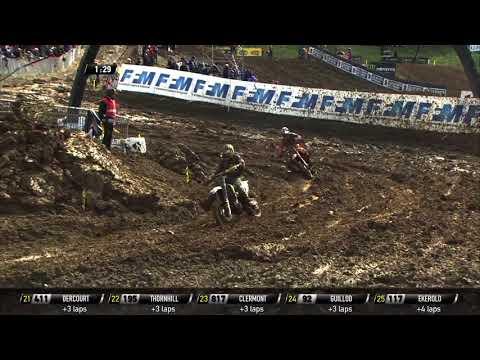 Herlings passes Anstie in Race 1 - MXGP of Pays de Montbéliard