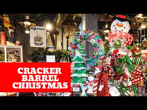 Christmas at Cracker Barrel 🎄Shop with Me 🎄
