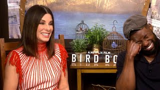 Sandra Bullock Jokes About Her Secret to Looking Ageless (Exclusive)