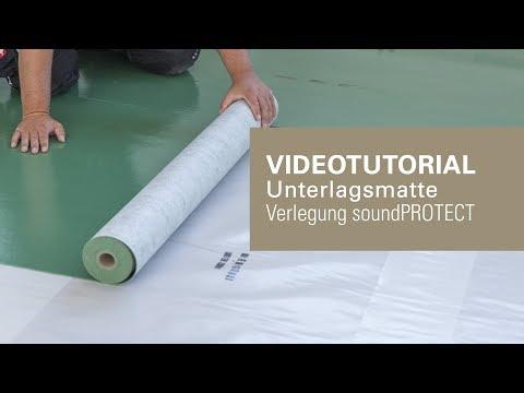 Trittschalldämmung für Laminat und Parkett verlegen | wineo soundPROTECT