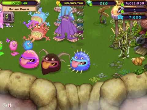 King Wither My Singing Monsters How To Breed Epic Maw On Plant