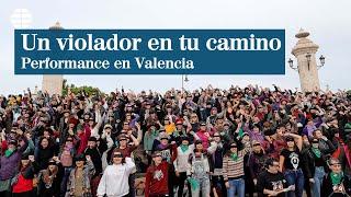 Un violador en tu camino, interverción réplica en Valenciano