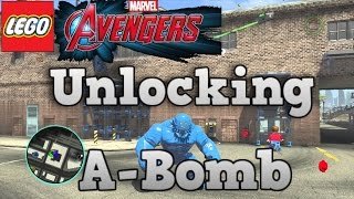 LEGO MARVEL Avengers How To Unlock A-Bomb