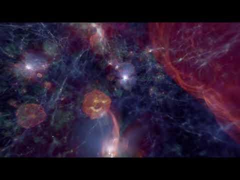 Simulation Starting after the Big Bang