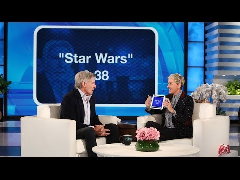 Harrison Ford Plays 'Heads Up!' with Ellen