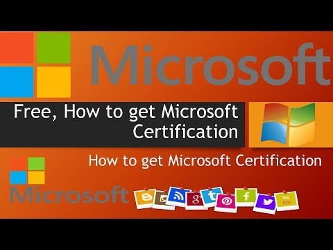 Microsoft Virtual Academy, Free, How to get Microsoft Certification ...