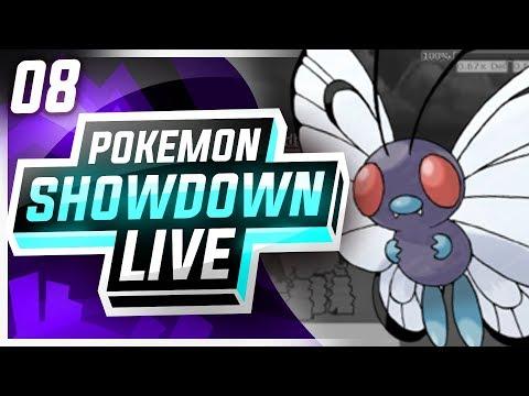 BUTTERFREE is the BEST POKEMON EVER! • Pokemon Showdown Live [PU]