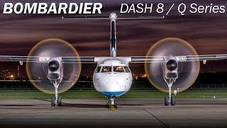 Bombardier Dash 8/Q Series - турбовинтовой регионал