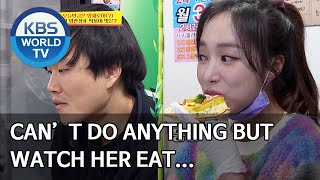 Can't do anything but watch her eat… [Boss in the Mirror/ENG/2020.05.28]