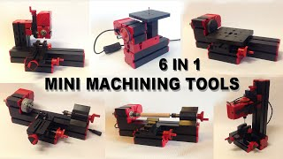 6 In 1 Mini Machining Tools Unboxing And Assembly