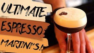 Making DELICIOUS Espresso Martinis AT HOME!