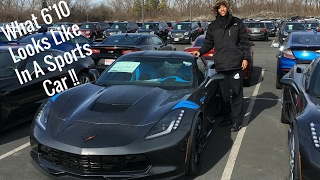 A Tall Guy In A Corvette! A Corvette Review From A Tall Guy's Perspective....