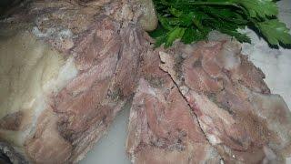 Смотреть онлайн Готовим ветчину из свиной рульки